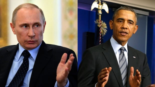 Russian President Vladimir Putin and U.S. President Barack Obama spoke on the phone for an hour Thursday.