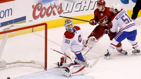 Canadiens Coyotes Hockey