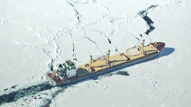 Demand for ice-breaking services has been high around P.E.I., says the Canadian Coast Guard.