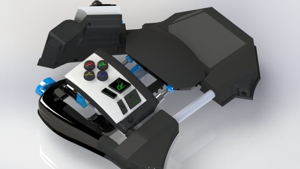 The team at Tivitas Interactive cancelled the Sinister gamepad Kickstarter campaign over the weekend, even though they exceeded their funding goal.