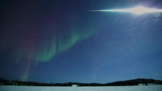 Photographer Yuichi Takasaka shot this amazing photo of the fireball in Yellowknife on March 7.