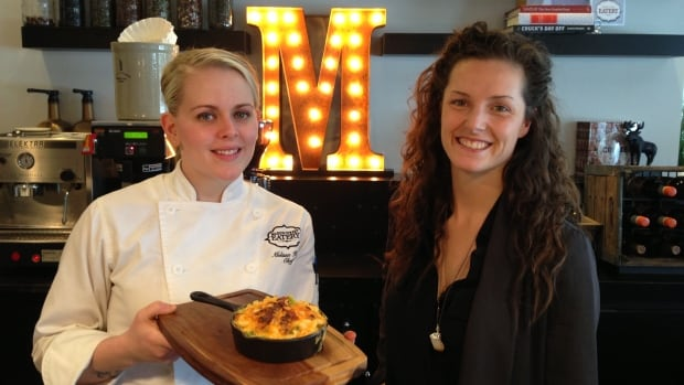 Melissa Hyrb & Laneil Smith's Marion Street Eatery has only been open for three weeks.