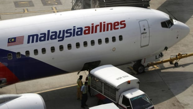 A Malaysia Airlines plane, not the one pictured, had to make an emergency landing in Hong Kong while en route from Kuala Lumpur to Seoul.