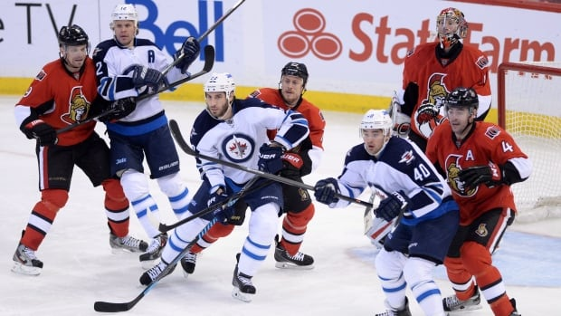 The Ottawa Senators edged the Winnipeg Jets 4-3 in the teams' last meeting on Jan. 2.