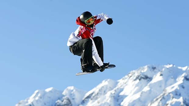 In this Feb. 8 photo, Canada's Mark McMorris performs a jump during the men's snowboard slopestyle competition at the 2014 Sochi Olympic Games where he won bronze.