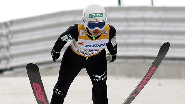 Sara Takanashi of Japan, shown in this file photo, won another World Cup women's ski jump event on Saturday in Norway.