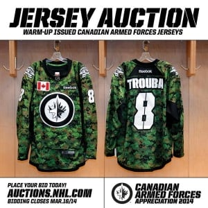 armed forces jerseys