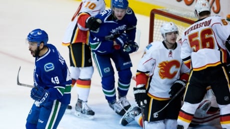 Canucks, Flames