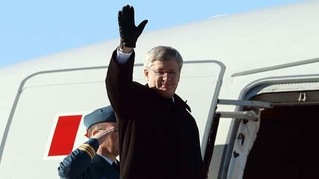 Stephen Harper heads to South Korea