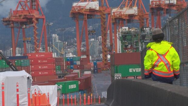 Port Metro Vancouver says it's supporting the Yes side in the upcoming transit referendum.