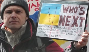 South Korea Ukraine Protest