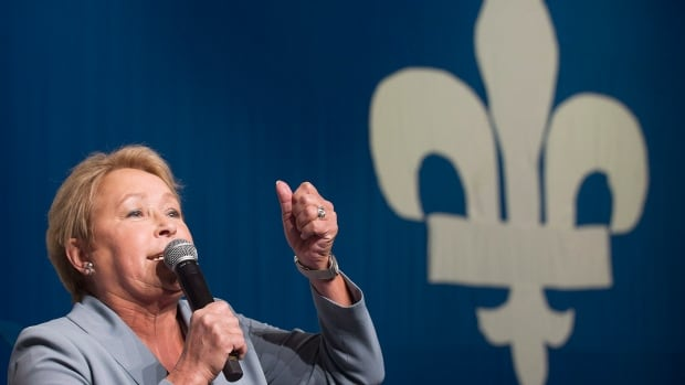 Parti Québécois leader Pauline Marois again refused to participate in an English-language leaders debate.