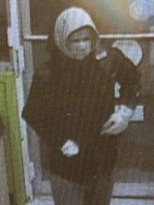 Police say this man robbed the Salmon River Needs Sunday.