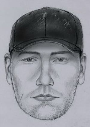 Sketch of sexual assault suspect in moncton