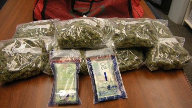 "RCMP officers with the Wrigley satellite office based in Fort Simpson seized about 2.3 kilograms of marijuana and a ""significant"" amount of cash during a traffic stop last Thursday."