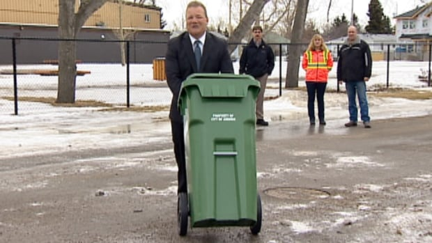 Airdrie is getting a green cart program, which will see organic material picked up at the curb. Calgary is testing a similar system.