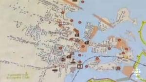 Sackville map