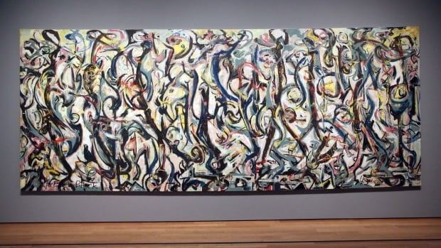 Jackson Pollock's Mural, 1943, will remain on display at the J. Paul Getty Museum in Los Angeles for three months before going to Iowa's Sioux City Art Center.