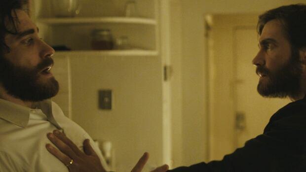 Jake Gyllenhaal is pictured in a scene from Denis Villeneuve's surreal mind-bender film Enemy in a studio handout photo.