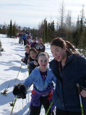 Kuujjuaq skiers