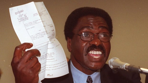 Rubin 'Hurricane' Carter, seen above in a 1993 file photo, is dying of prostate cancer.
