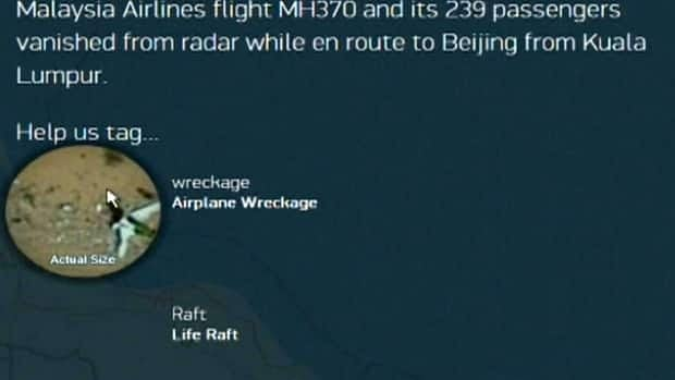 Flight MH370 search crowdsourced