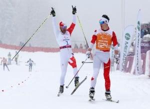 Brian McKeever wins 1K sprint at Sochi Paralympics