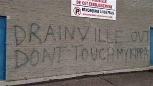 graffiti drainville longueuil