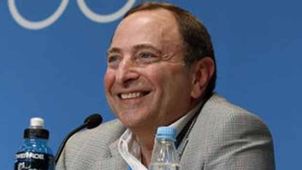 "NHL commissioner Gary Bettman that he considers the decline in player concussions ""significant"" and ""healthy."""
