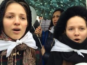 Ukrainian girls in Crimea