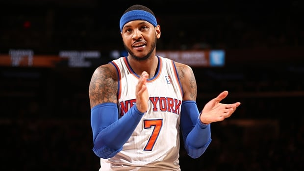 Carmelo Anthony of the New York Knicks said Wednesday legendary NBA coach Phil Jackson will be joining the team's front office. How this will potentially affect Anthony's impending free agency remains to be seen.