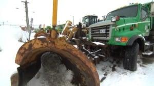 St. John's city snow plow