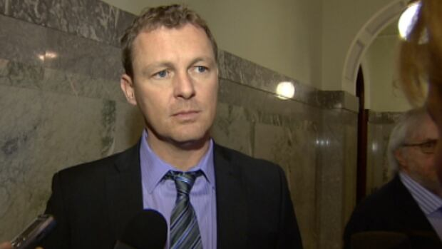 """Service Alberta Minster Doug Griffiths is apologizing for the """"suck and blow"""" comment that was singled out as an example of bad MLA behaviour in a letter from Innisfail Middle School."""
