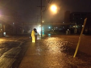 Flooding Dartmouth General