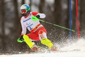 Chris Williamson tied for 2nd in men's slalom