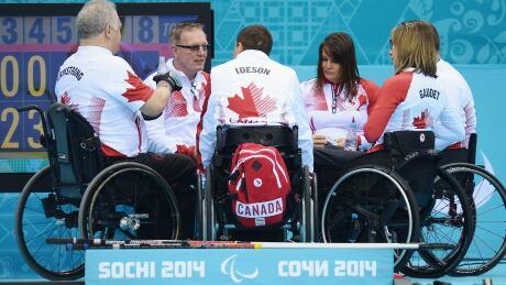 Canada's wheelchair curling team