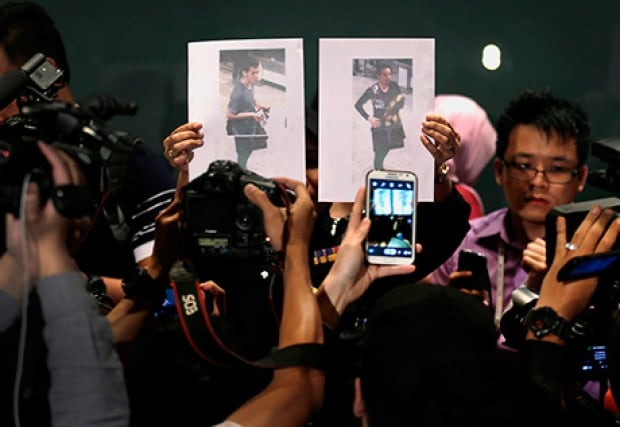 Passport holders Malaysia MH370