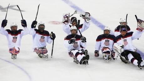 USA beats Canada in sledge hockey semifinals
