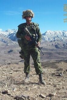 Maj Mark Campbell