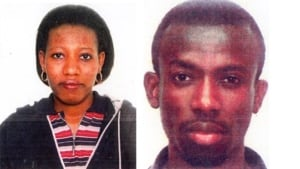 Courage Agbezorlie and Sandra Mensah