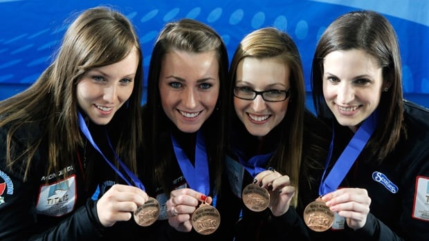Rachel Homan, Emma Miskew, Alison Kreviazuk and Lisa Weagle weill look to upgrade on last year's bronze medal finish at the world women's curling championships starting in Saint John , N.B. on Saturday.