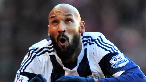 """Nocolas Anelka said on his Twitter account on Friday that he decided to leave thWest Brom after being offered """"to rejoin the group under certain conditions I can't accept."""""""