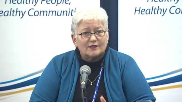 Eastern Health CEO Vickie Kaminski spoke to reporters on Friday, and announced that she assume the CEO role of Alberta Health Services on June 2.