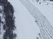 ice cutting path