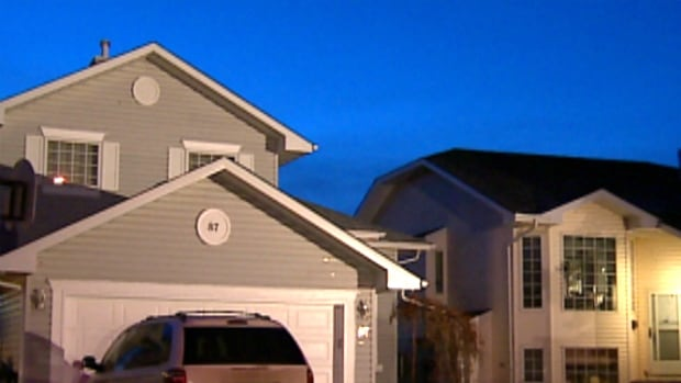 No injuries were reported after a northeast Calgary home was hit with bullets.