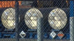 radiation barrels