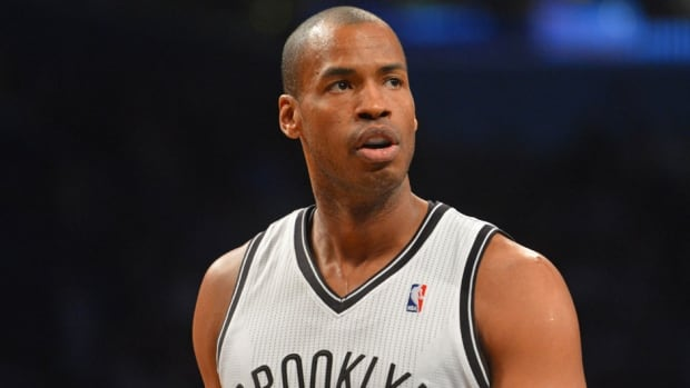 Jason Collins of the Brooklyn Nets is the NBA's first openly gay player.