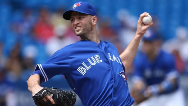 Toronto Blue Jays lefty J.A. Happ is battling for a spot in the club's starting rotation.