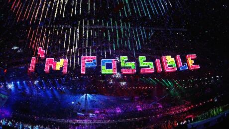 """I'm possible"" the theme of Sochi closing ceremony"