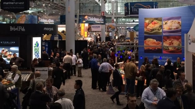 Thousands of people from as many as 100 countries are in Boston March 16-18 for the 2014 Seafood Expo.